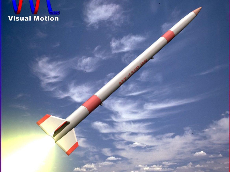 Japanese MT-135 Rocket ( 131.24KB jpg by VisualMotion )