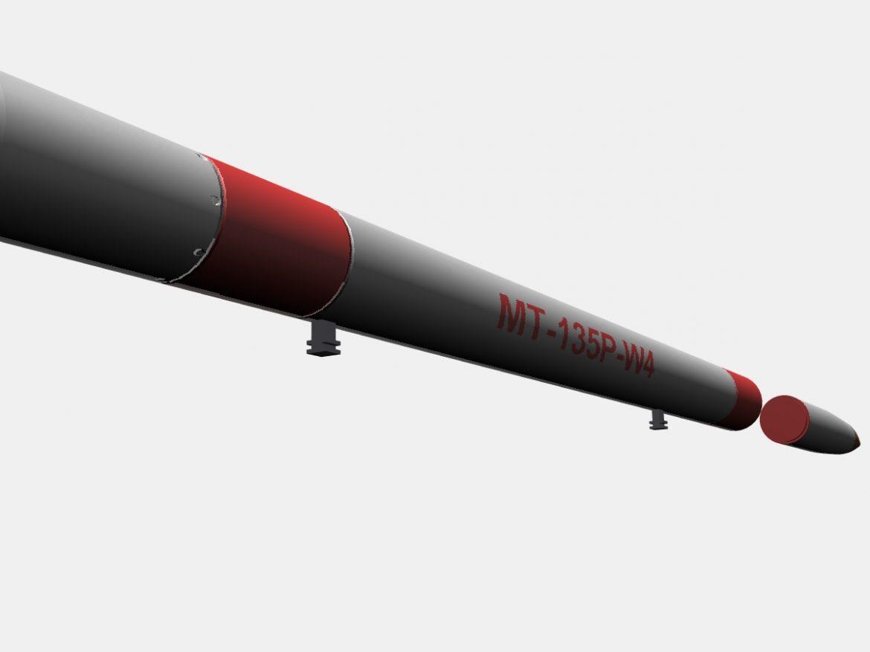 Japanese MT-135 Rocket ( 104.44KB jpg by VisualMotion )