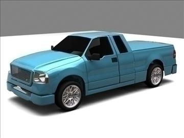 Ford f-150 pagarināts kabīnes kravas automobilis 3d modelis max 84122