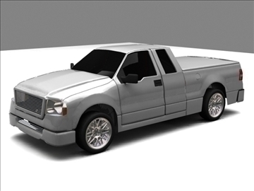 Ford f-150 pagarināts kabīnes kravas automobilis 3d modelis max 84123