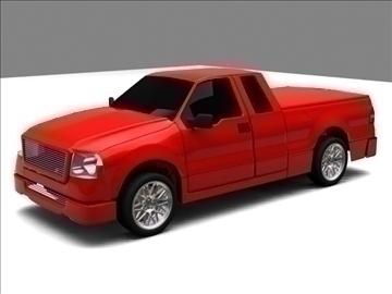 Ford f-150 pagarināts kabīnes kravas automobilis 3d modelis max 84124