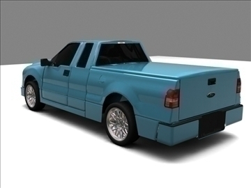 Ford f-150 pagarināts kabīnes kravas automobilis 3d modelis max 84125