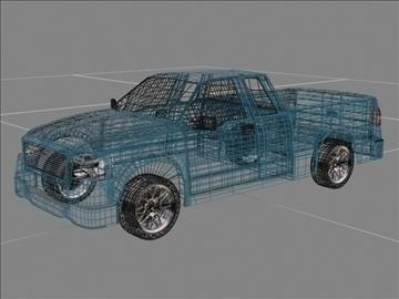 Ford f-150 pagarināts kabīnes kravas automobilis 3d modelis max 84128