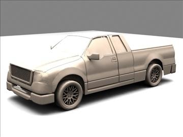 Ford f-150 pagarināts kabīnes kravas automobilis 3d modelis max 84129