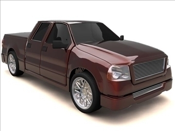 ford f-150 super crew cab truck 3d model max 84130