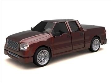 ford f-150 super crew cab truck 3d model max 84131