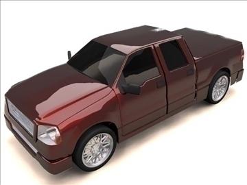 ford f-150 super crew cab truck 3d model max 84132