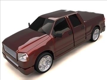 ford f-150 super crew cab truck 3d model max 84133
