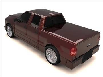 ford f-150 super crew cab truck 3d model max 84134