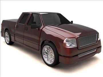 Super Crew Cab >> Ford F 150 Super Crew Cab Truck 3d Model
