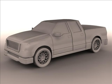 tryc f-150 lori cab super griw model 3d max 84136