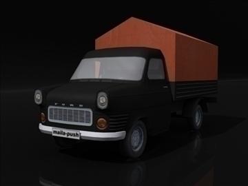 ford transit_black 3d model 3ds max obj 108411