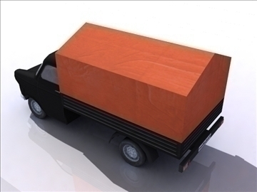 ford transit_black 3d model 3ds max obj 108412