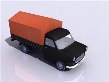 ford transit_black 3d model 3ds max obj 108413