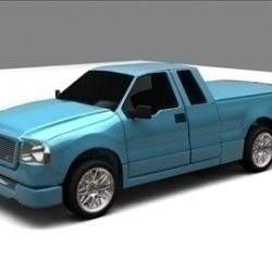 Ford F-150 Extended Cab Truck ( 45.8KB jpg by RP3D )