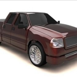 FORD F-150 SUPER CREW CAB TRUCK ( 48.94KB jpg by RP3D )