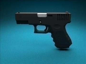 glock 32c 3d модел 3ds 100222