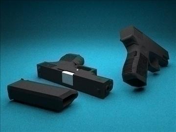glock 32c 3d model 3ds 100224