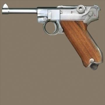 Luger 3d model 3ds max 80718