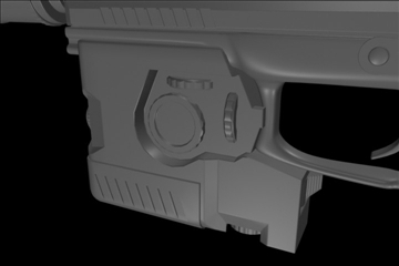 socom mk 23 45 calibur gun 3d model 3ds max ma mb 111276