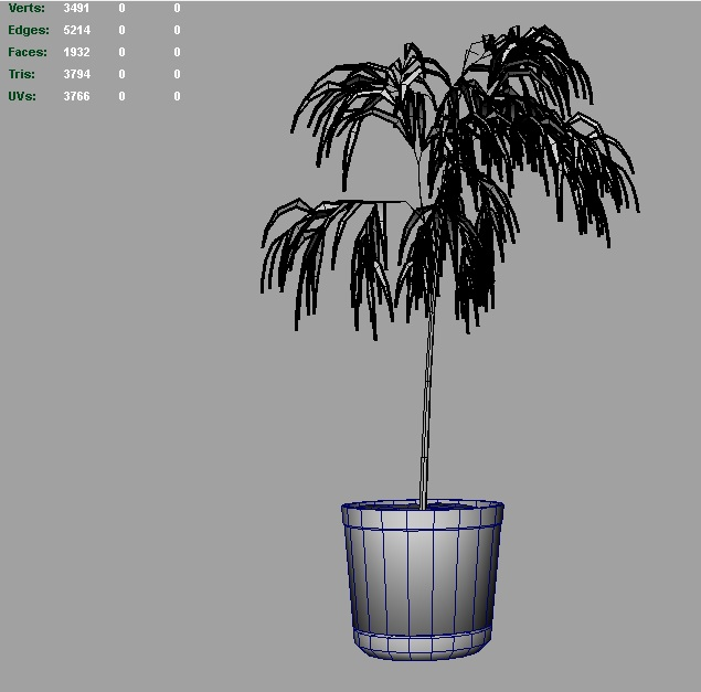 bamboo 3d model 3ds fbx c4d lwo ma mb hrc xsi obj 123356