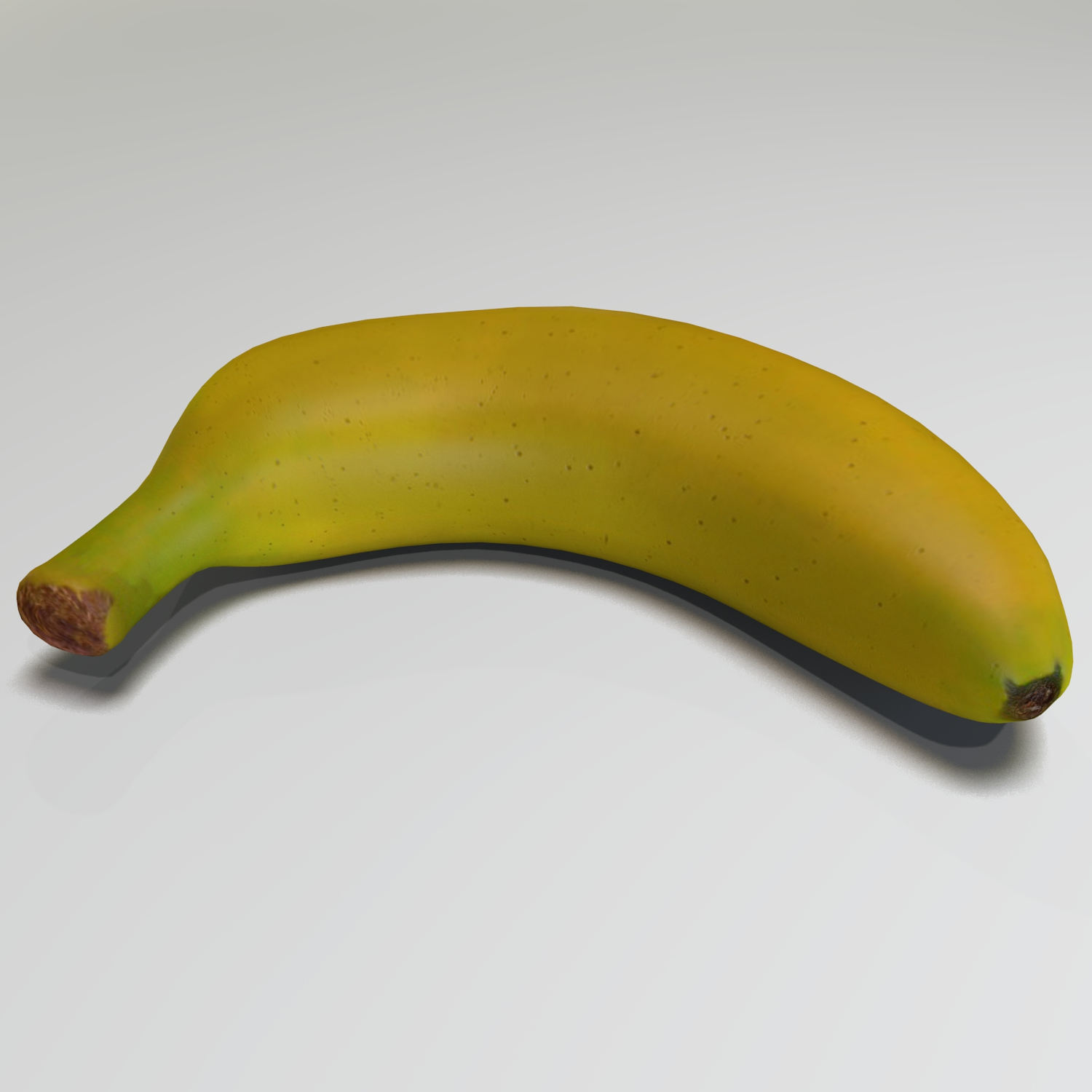 banana (2) 3d model mešavine obj 139028