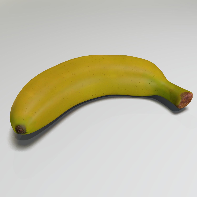 banana (2) 3d model blend obj 139029