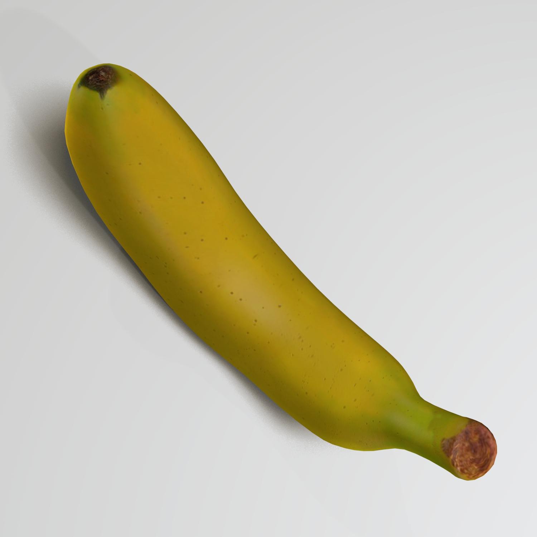 banana (2) 3d model blend obj 139030