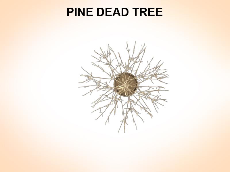 dead pines 3d model 3ds fbx c4d lwo ma mb hrc xsi obj 123490