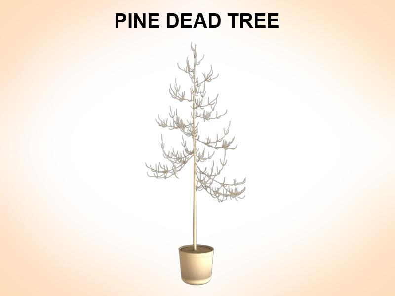 dead pines 3d model 3ds fbx c4d lwo ma mb hrc xsi obj 123491