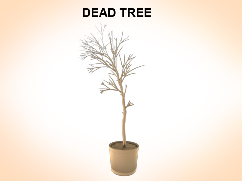 dead tree 3d model 3ds fbx c4d lwo ma mb hrc xsi obj 123361