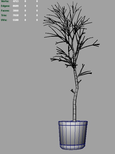 dead tree 3d model 3ds fbx c4d lwo ma mb hrc xsi obj 123364