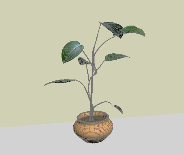 houseplant 3d model max 157215