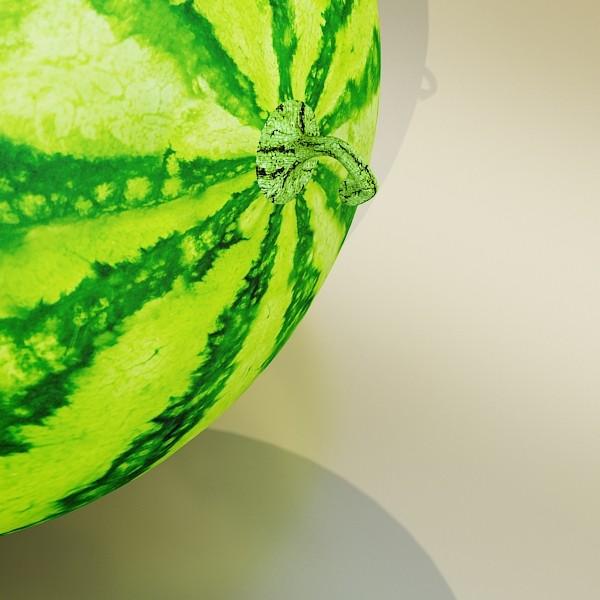 watermelon high res texture 3d model 3ds max fbx obj 133142