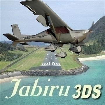 Jabiru 3d líkan 3ds 79128