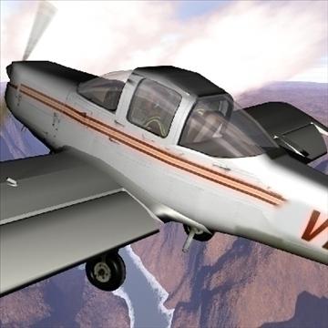 piper tomahawk 3d model 3ds max 79375