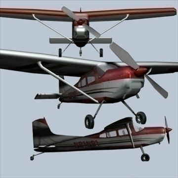 private taildragger 3d model 3ds 79056