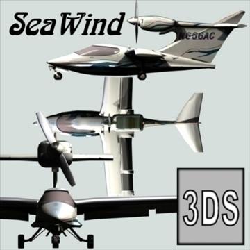 seawind 3d model 3ds 79219