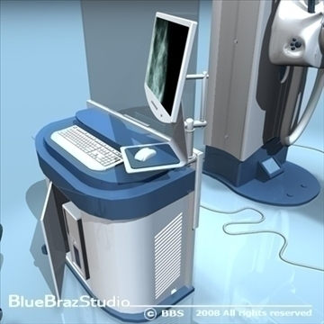 mammography equipment 3d model 3ds dxf c4d obj 89696