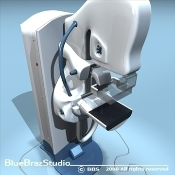 mammography equipment 3d model 3ds dxf c4d obj 89697