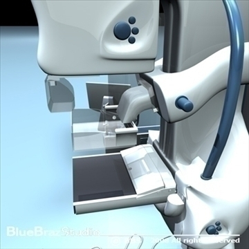 mammography equipment 3d model 3ds dxf c4d obj 89698