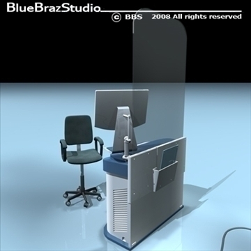 mammography equipment 3d model 3ds dxf c4d obj 89700