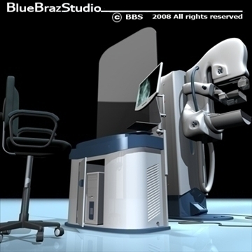 mammography equipment 3d model 3ds dxf c4d obj 89702