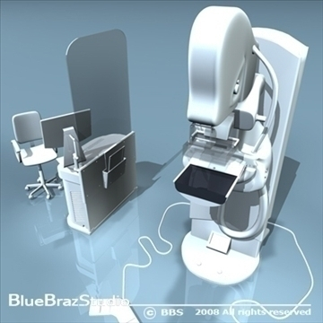 mammography equipment 3d model 3ds dxf c4d obj 89704