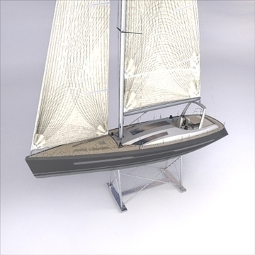 sloop_60_low model 3d ma mb obj 82564