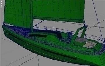 sloop_60_low 3d model ma mb obj 82567