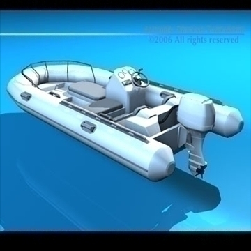 yacht 3d model 3ds dxf c4d obj 82881