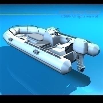 zodiaka laiva 3d modelis 3ds dxf c4d obj 82855