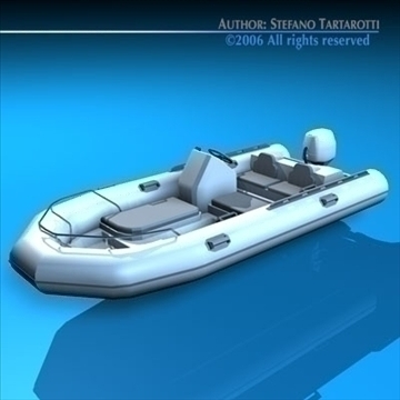 zodiaka laiva 3d modelis 3ds dxf c4d obj 82859