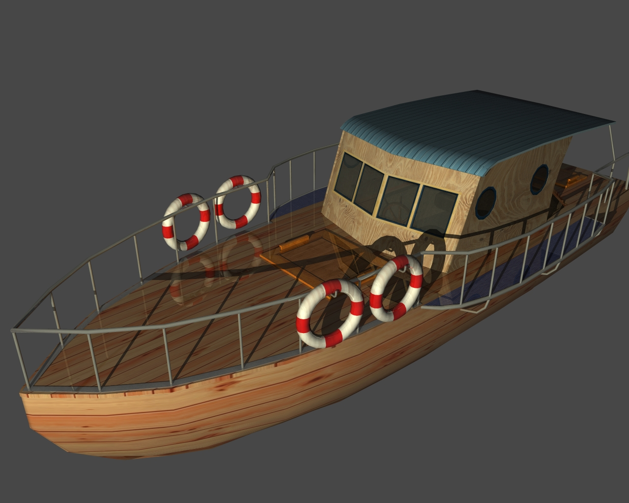 new boat 3d model 3ds 165404